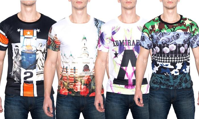 911e0a68543eea Sublimation Men s Graphic T-Shirts. Sublimation Men s Graphic Tees