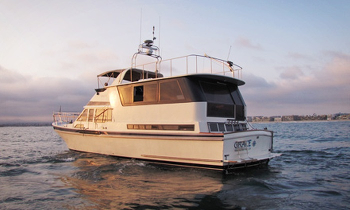 LA Yacht Entertainment - Marina Del Ray: Yacht Cruise with Wine Tasting for Two or Up to 10 from LA Yacht Entertainment (Up to 64% Off)