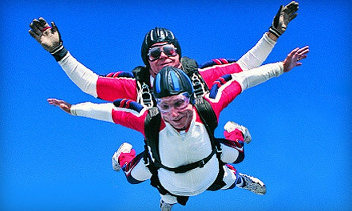 Skydive Canyonlands - Moab: Tandem Skydiving Jump for One or Two from Skydive Canyonlands in Moab (Up to 56% Off)