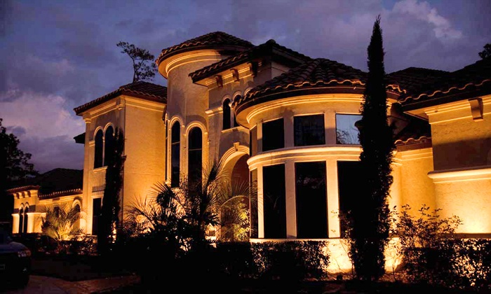 Moonlighting outdoor lighting services spring tx groupon up to 52 off from moonlighting outdoor lighting services aloadofball Gallery