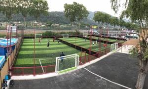 Street Soccer: Location d'un terrain de street soccer durant 1h pour 10 personnes dès 39,90 € avec Street Soccer