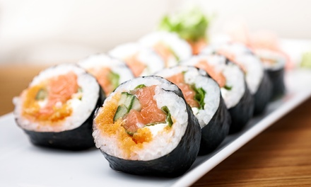 Sushi Dinner for Two or Four or Japanese Lunch for Two or Four at Bushido Japanese Restaurant (Up to 49% Off)