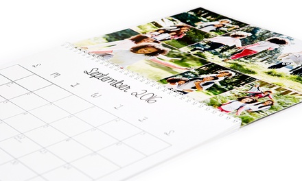 Custom Photo 12-Month Calendars from Collage.com Calendars (Up to 76% Off)