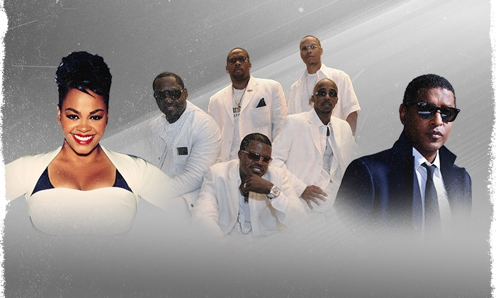 """Holiday Jam 2015 with Jill Scott, New Edition, and Kenny """"Babyface"""" Edmonds - Hampton Coliseum: Holiday Jam 2015 with Jill Scott, New Edition, and Kenny """"Babyface"""" Edmonds on Friday, December 4, at 7 p.m."""