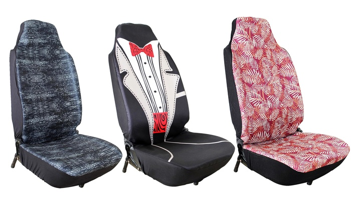 Marvelous Patterned Car Seat Covers Groupon Goods Pabps2019 Chair Design Images Pabps2019Com