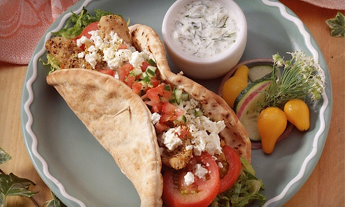 Mediterranean Bistro - The Fan: Cuisine at Mediterranean Bistro (Half Off). Two Options Available.