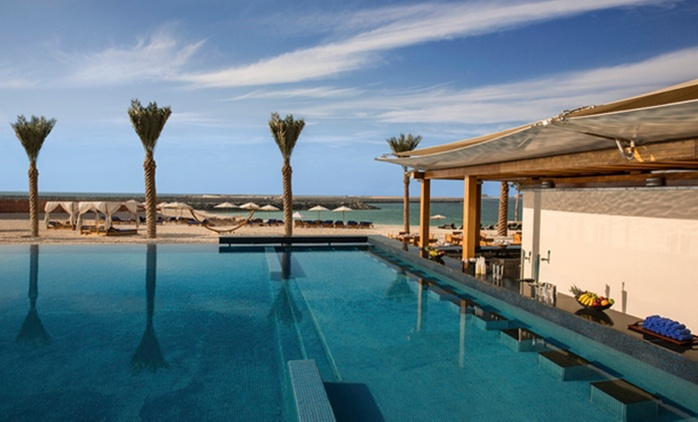 Brunch with Pool and Beach Access for Up to Four at DoubleTree By Hilton Hotel Dubai Jumeirah Beach (Up to 54%)