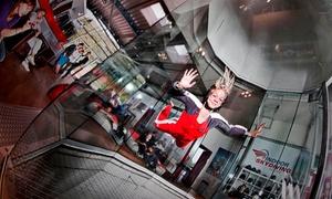 Indoor Skydiving Bottrop: 4 Min. od. 6 Min. Indoor-Skydiving inkl. Film für 1 oder 2 Personen bei Indoor Skydiving Bottrop (bis zu 36% sparen*)