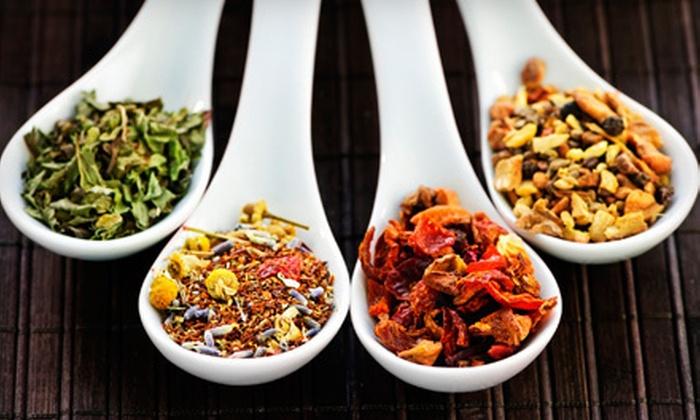 MacNab's Premium Tea  - Boothbay: $15 for $30 Worth of Tea, Yarn, Needles, and Supplies at MacNab's Premium Tea in Boothbay Harbor