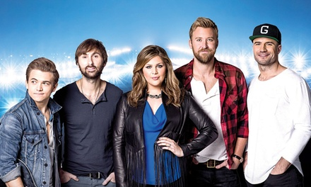 Lady Antebellum: Wheels Up 2015 Tour with Hunter Hayes and Sam Hunt (September 10 at 7 p.m.)