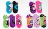 Star Wars Ladies' Socks (10-Pack): Star Wars Ladies' Pop Art No-Show Socks (10-Pack)