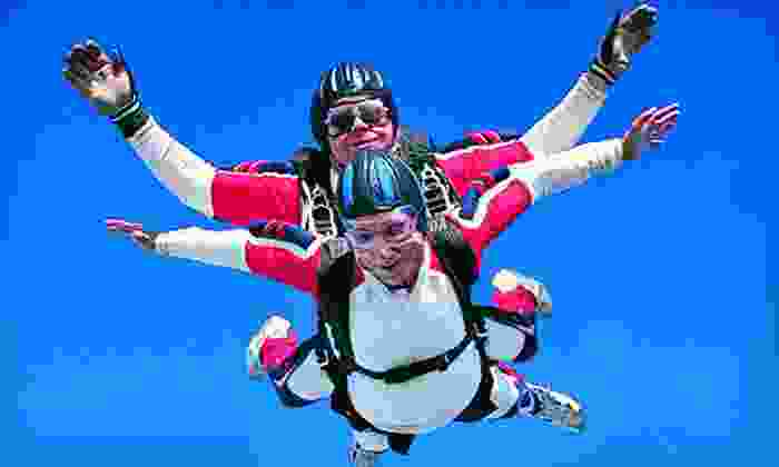 Skydive Mid America - Macon: Tandem Skydive for One or Two at Skydive Mid America (Up to 45% Off)