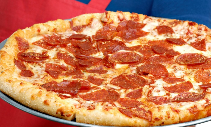 Rafael's Pizza - Sandpointe: Pizza Meal for Two or Four at Rafael's Pizza (44% Off)