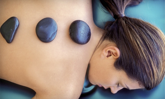 Meridians - North Weymouth: Facial, Hot-Stone Massage, or Both at Meridians (Up to 56% Off)