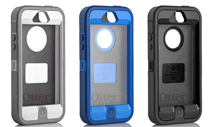 uk availability a53f5 bdec1 Otterbox Defender iPhone 5 Hybrid Case and Holster | Groupon