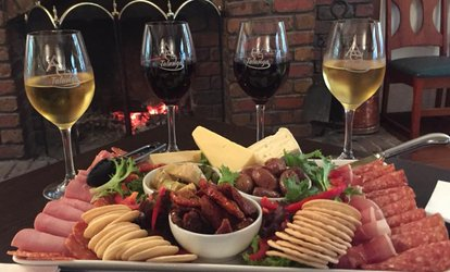 $45 for Antipasto Platter with Wine for Four People at Talunga Estate (Up to $97 Value)