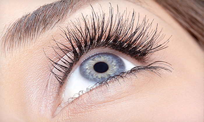 Escape Salon and Spa - Glen Ellyn: Half or Full Set of Eyelash Extensions at Escape Salon and Spa (61% Off)