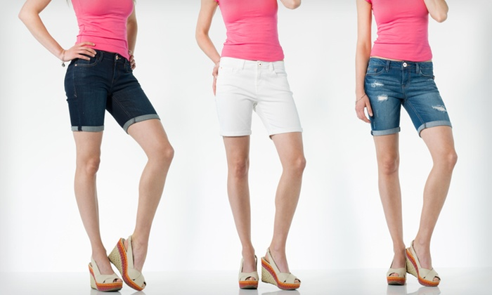 Kensie Bermuda Shorts: $28.99 for Kensie Bermuda Shorts ($68 List Price). 3 Styles Available. Free Shipping and Returns.