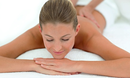 Massage with Optional Deep-Exfoliating Facial from Mollie and Kim at The Great Escape Day Spa (Up to 42% Off)