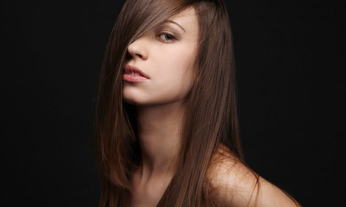 Nancy's Special Touch - North Braintree: Cut and Blow-Dry with Conditioning or Full Highlights, or a Brazilian Blowout at Nancy's Special Touch (Up to 50% Off)