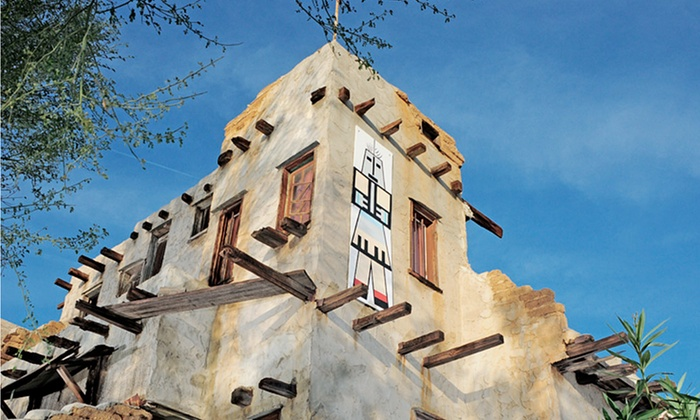 Cabot's Pueblo Museum - Desert Hot Springs: Pueblo-Museum Visit for Two or Four or One-Year Household Membership for One to Cabot's Pueblo Museum (50% Off)