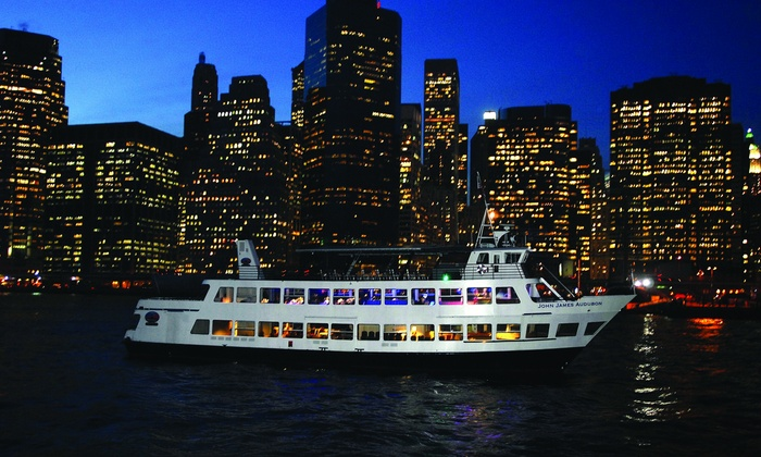 """oncruises.com- NYC - Liberty Sunset Cruises: Party Cruise for One, Two, or Four from """"Liberty at Sunset"""" (Up to 56% Off)"""