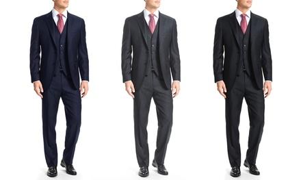 Mundo Slim-Fit 3-Piece Mens Suits
