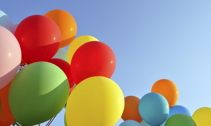 Magnificent Balloon Creations - Hampton Roads: $110 for $200 Groupon — Magnificent Balloon Creations