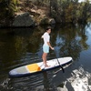 HydroWave Stand-Up Paddleboard and Kayak Set
