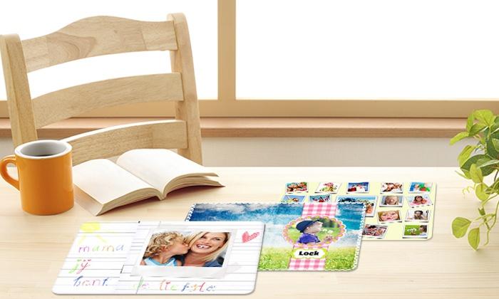 sets de table personnalis s groupon. Black Bedroom Furniture Sets. Home Design Ideas