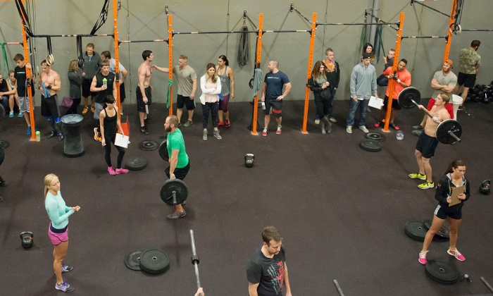 CrossFit GSL - Draper: CrossFit Classes with Option for Introductory CrossFit Foundations Classes at CrossFit GSL (Up to 65% Off)