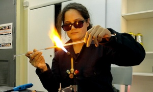 Play With Fire In A Glassmaking Workshop