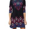 Women's Paisley Sweater Dress