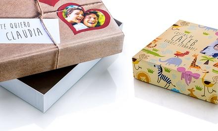 Pack de três caixas de presente personalizadas por 14,95€