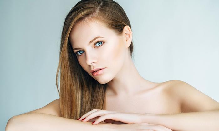 The Villa Salon..... - Festival Hills: Up to 54% Off women's cut and color treatments at The Villa Salon.....