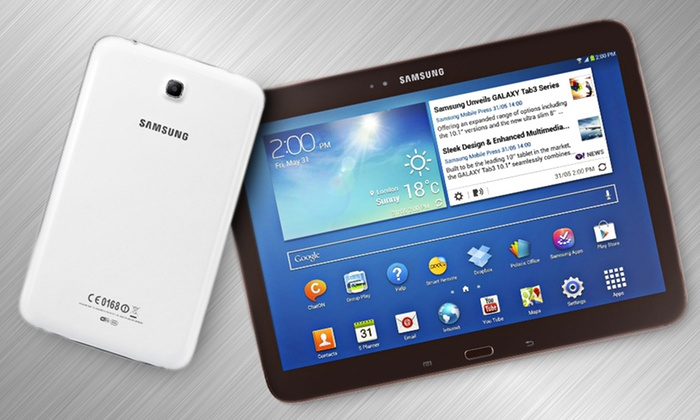 Samsung Galaxy Tab 3: Samsung Galaxy Tab 3 7.0, 8.0, or 10.1 in Brown or White (Refurbished) (Up to 25% Off). Free Shipping and Returns.