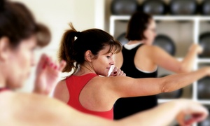 Big Impact Fitness: 8 or 16 Fitness Classes at Big Impact Fitness (Up to 63% Off)