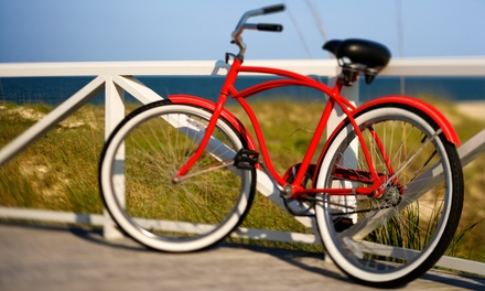 Two-, Four-, or Eight-Hour Comfort Bike Rental for One or Two from Wheeling Good NYC (Up to 51% Off)