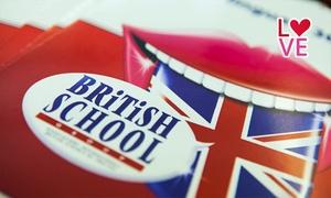 British School: Fino a 18 mesi di corso di inglese interattivo in aula e in più corso a distanza da British School (sconto fino a 95%)