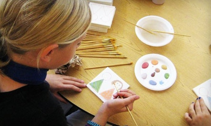 Color Me Mine - Color Me Mine: Paint-Your-Own Pottery at Color Me Mine (Up to 52% Off)