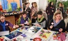 Party with Matisse - Milo Arts: Paper-Cutouts Art Party for One or Two at Party with Matisse (Up to 55% Off)