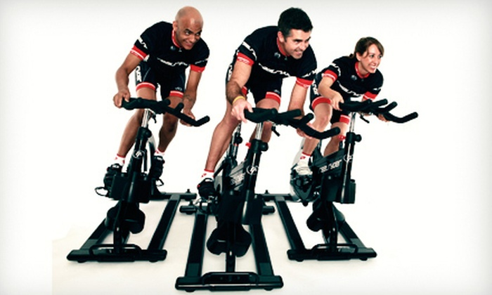 Ryde For Life - Multiple Locations: 10 or 20 RealRyder Indoor Cycling Classes at Ryde For Life (Up to 62% Off)