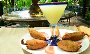 Coyote Crossing: Mexican Food at Coyote Crossing (Up to 40% Off). Three Options Available.