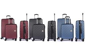 Set 3 valises rigide 4 doubles roues