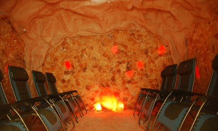 One or Three Salt-Cave Visits at Serenity Salt Cave (Up to 57% Off)