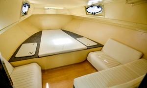 Happy Days Sea Cruising LLC: Dubai Creek Cruise for One, Two, Four or 10 People at Happy Days Sea Cruising