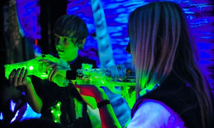 6 or 12 Laser-Tag Adventure Passes at Laser Island (Up to 50% Off)