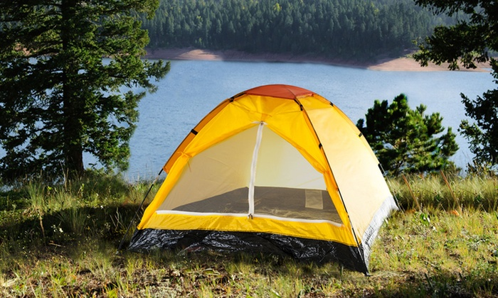 Two-Person Tent: Two-Person Tent. Multiple Colors Available. Free Shipping and Returns