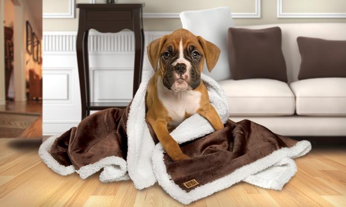 Animal Planet Sherpa Pet Blanket: Animal Planet Sherpa Pet Blanket. Multiple Colors Available. Free Returns.