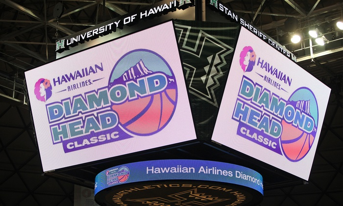 Hawaiian Airlines Diamond Head Classic - Stan Sheriff Center: Hawaiian Airlines Diamond Head Classic College Basketball Doubleheader at Stan Sheriff Center (Half Off)